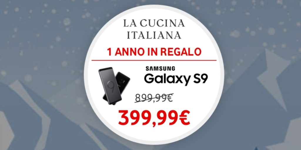 Samsung Galaxy S9 a 399,99€