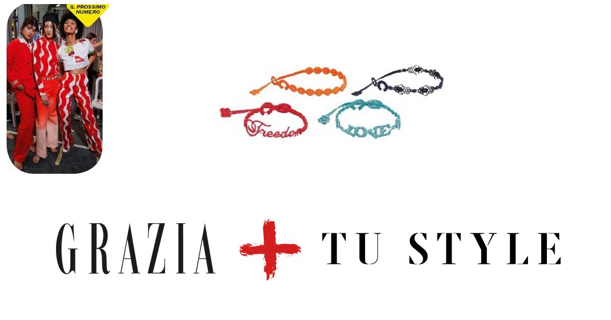 online store 2f5ef 001e3 Braccialetto Cruciani in omaggio con TuStyle + Grazia!
