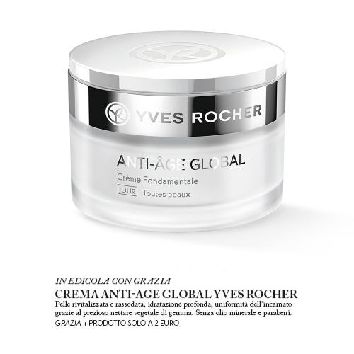 crema anti-age global yves rocher
