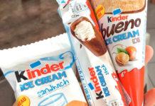 gelati kinder a marzo