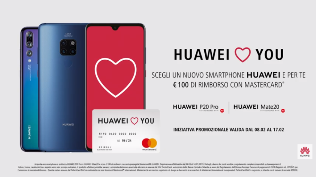 huawei san valentino 2019