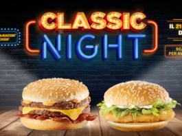 mcdonald's classic night
