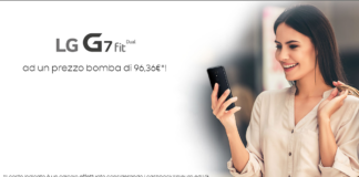 sconto lg g7 fit