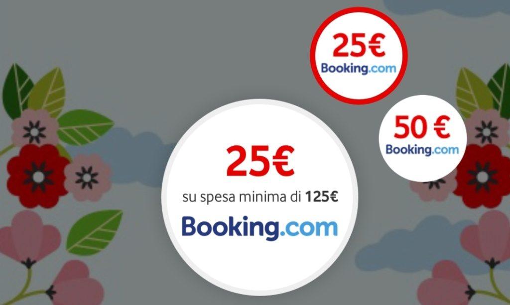 buono sconto Booking fino a 50€