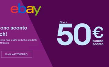buono sconto tech ebay
