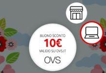 buono sconto OVS o Vodafone TV