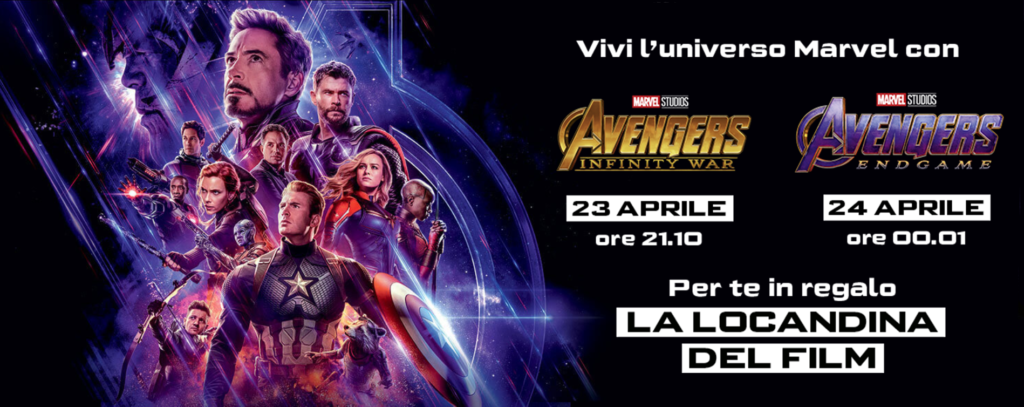 avengers: endgame con uci cinemas