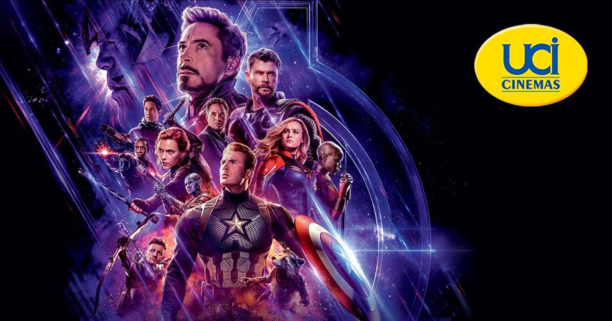 Uci Avengers Endgame