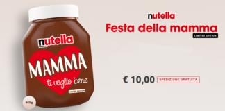 nutella festa della mamma limited edition