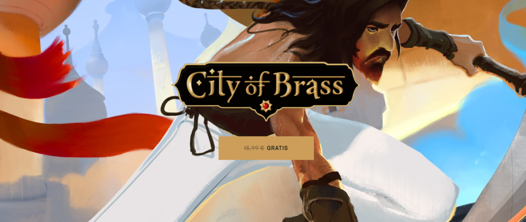 city of brass gratis