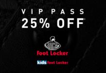 foot locker vip di maggio 2019