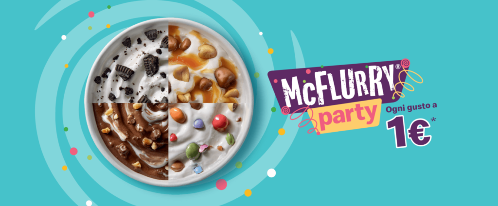 mcdonald's mcflurry party