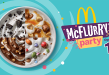 mcdonald's mcflurry party