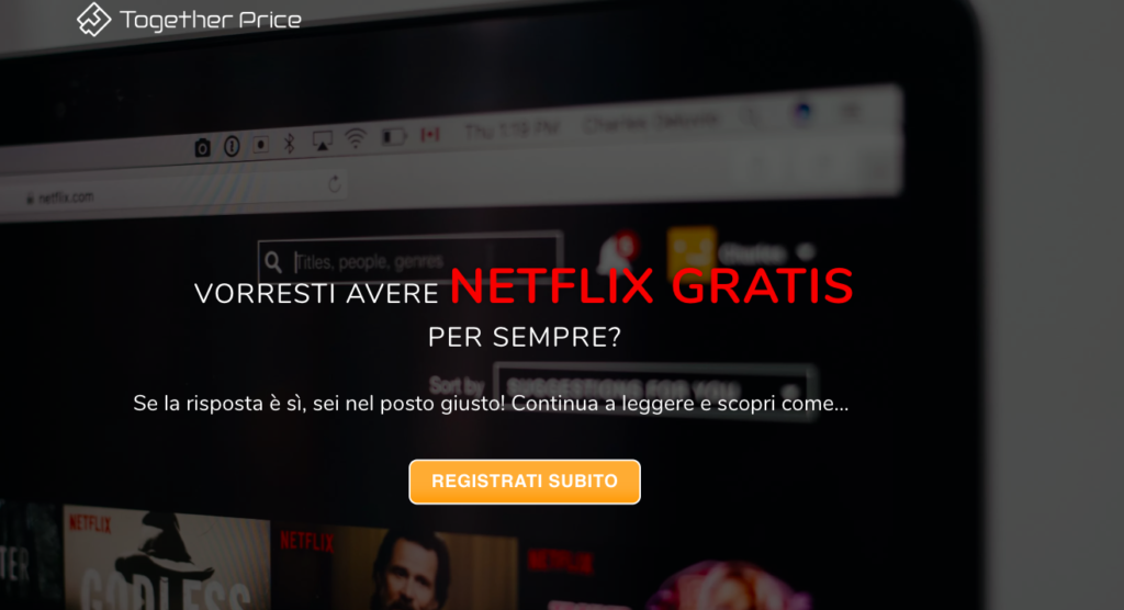 netflix gratis together price