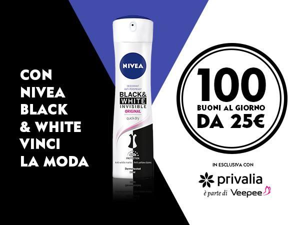 nivea black white privalia
