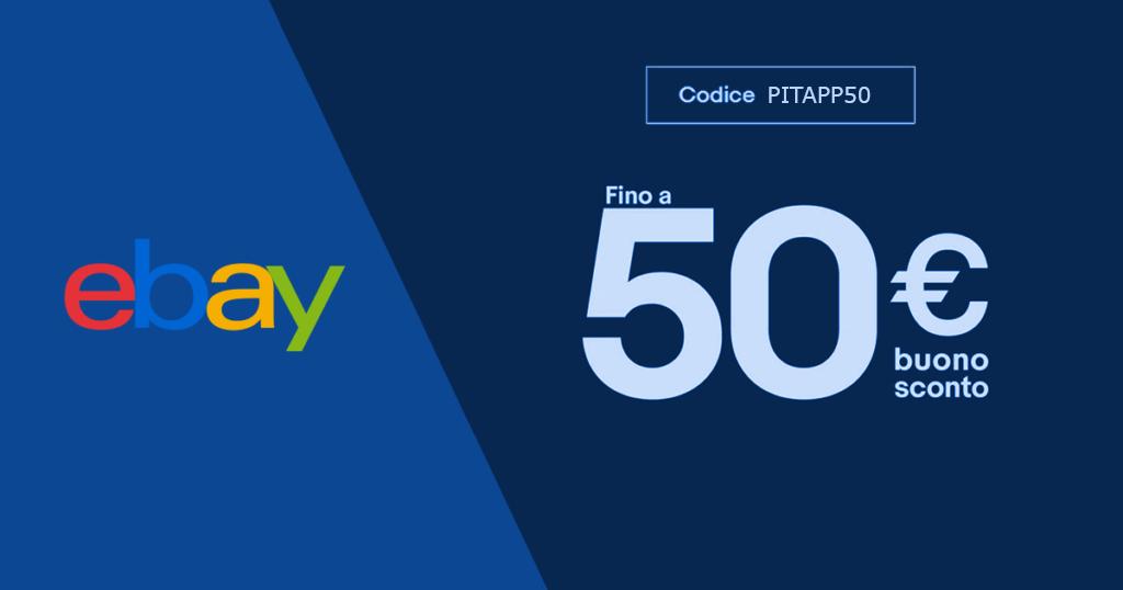 codice sconto app ebay
