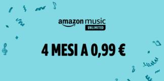 amazon music unlimited 4 mesi