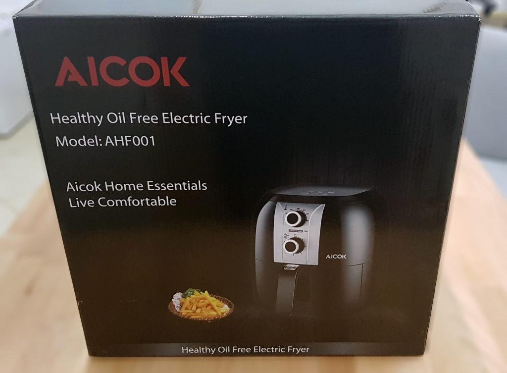 friggitrice ad aria calda aicok confezione