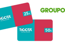 gift card tigotà groupon