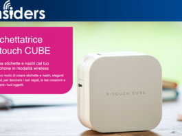 the insiders etichettatrice p-touch cube