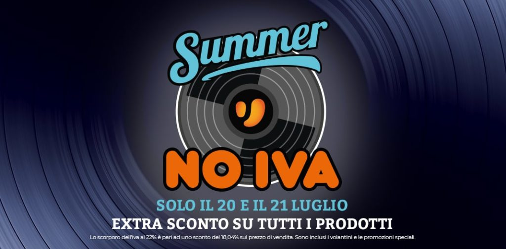 unieuro summer no iva 2019