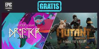epic games hyper light drifter mutant year zero gratis