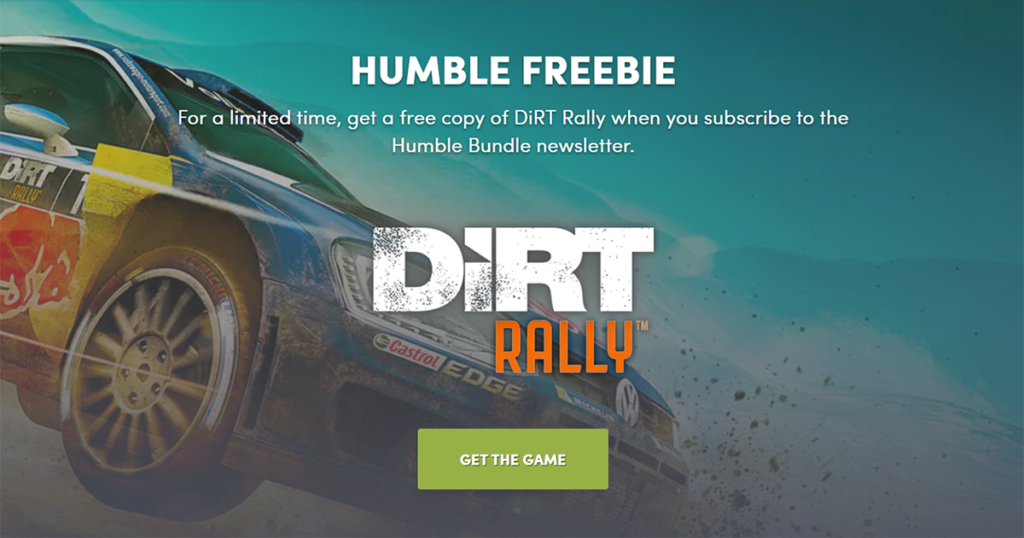 humble bundle dirt rally gratis