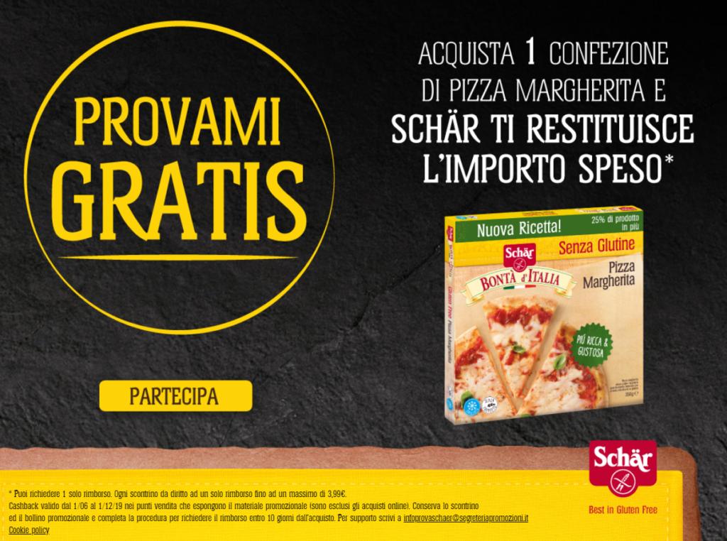 pizza schar gratis