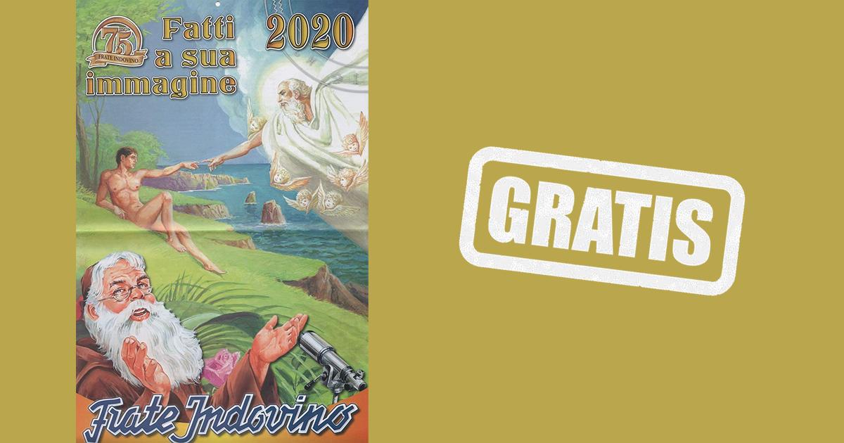 Richiedi GRATIS il Calendario 2020 di Frate Indovino!