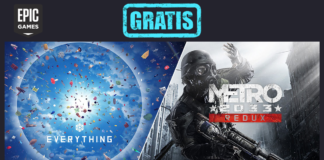 epic games everything metro 2033 redux gratis