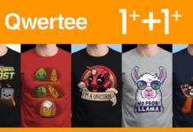 qwertee t-shirt gratis