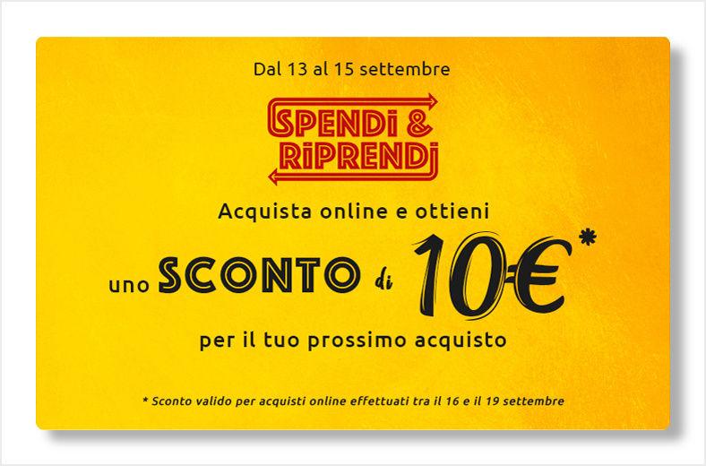 carrefour 10€ sconto