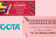 promo make-up tigotà settembre 2019