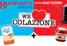 vinci montalatte philips kinder nutella
