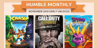 humble monthly novembre 2019