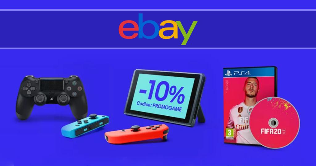 sconto ebay gaming