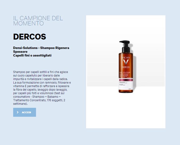 shampoo vichy gratis