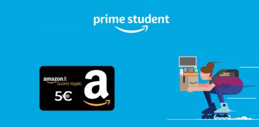 amazon prime student codice sconto