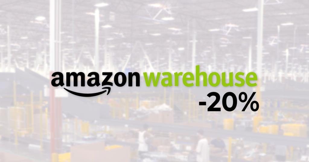 amazon warehouse sconto