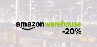 amazon warehouse sconto
