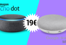 amazon echo e google home 19€