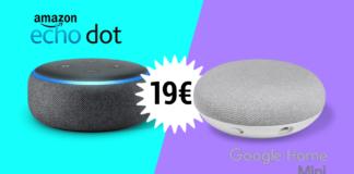 amazon echo e google home 19€