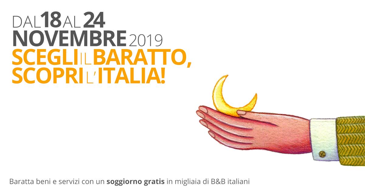 Settimana del Baratto 2019: scopri come soggiornare GRATIS ...