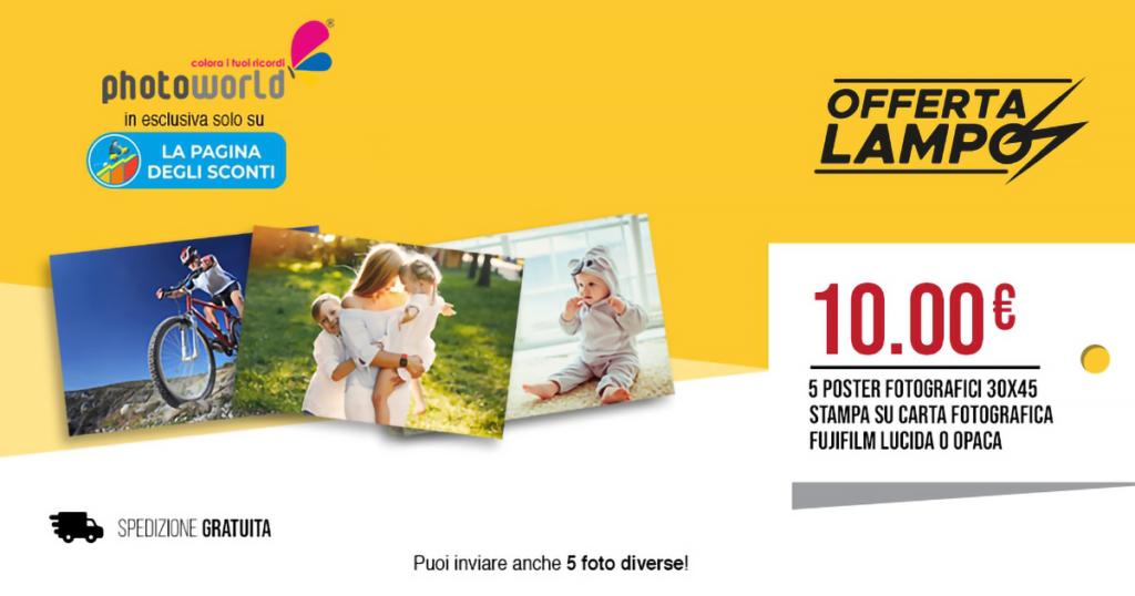 offerta poster fotografici