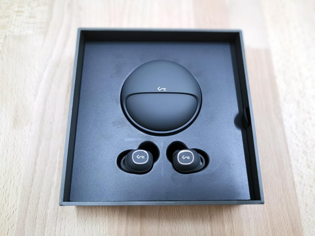 cuffie auricolari aukey key series t10 confezione