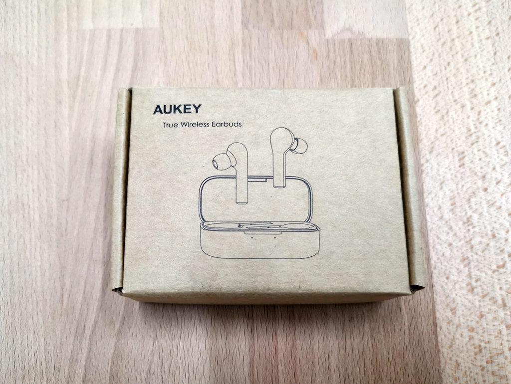 cuffie aukey airpods confezione