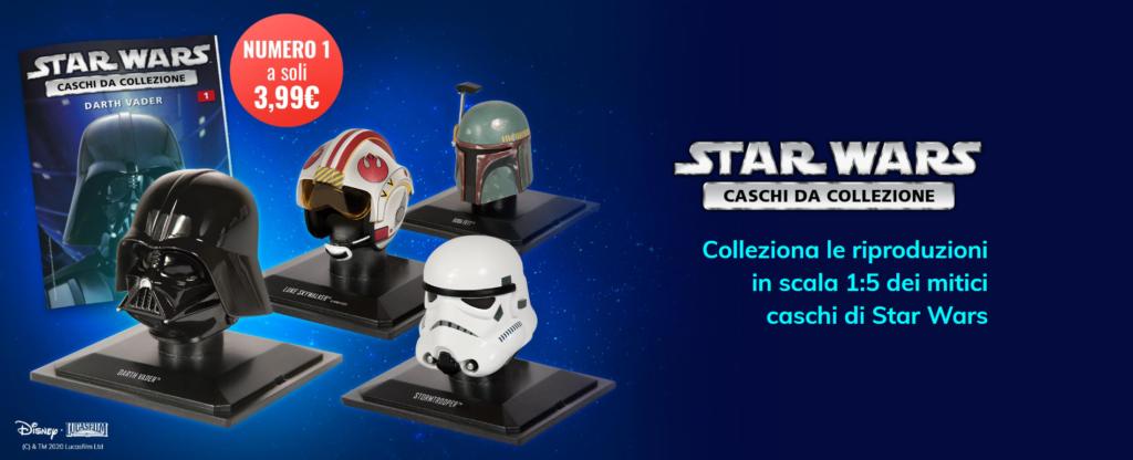 star wars caschi collezione