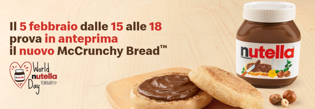 World Nutella Day McDonald's