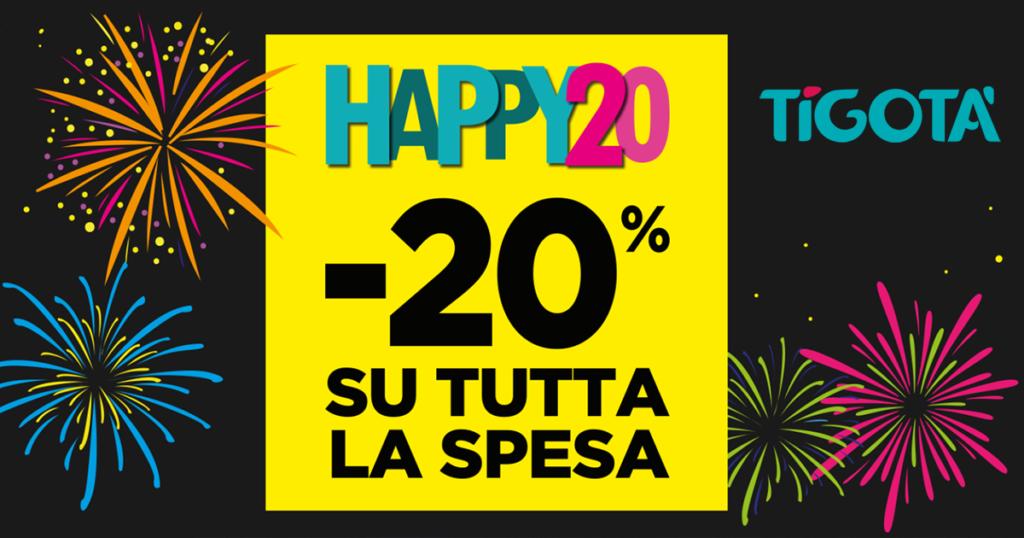 tigotà happy 20
