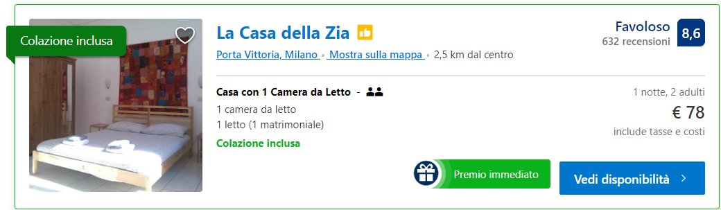 ebay extra sconto booking screenshot